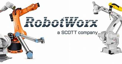Robot Industrial Robots Inventory Center Crop Collage
