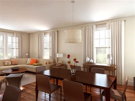 Living Room And Dining Room Together 2014  Room Design Ideas