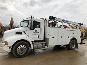 2008 Kenworth T300 Service    Utility Truck For Sale