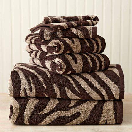 homes  gardens  piece zebra bath towel