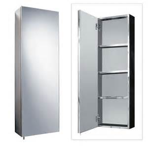 stainless steel 900mm x 300mm tall wall mounted bathroom