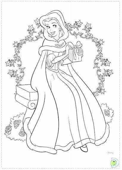 Disney Coloring Pages Together Princesses Princess Getcolorings