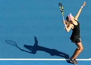 WTA Hobart: Eugenie Bouchard Defeats Alison Van Uytvanck ...
