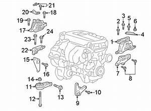 Chevrolet Malibu Automatic Transmission Mount Bracket  1 8