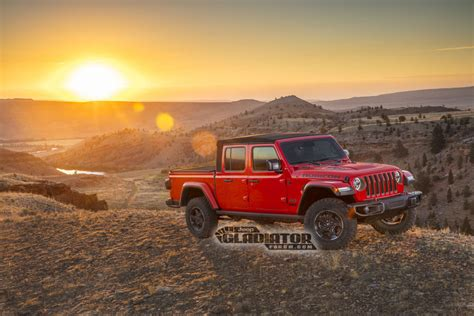 Jeep Truck 2020 Price by 2020 Jeep Gladiator Truck Leaks Coming With
