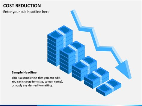 Cost Reduction PowerPoint Template | SketchBubble