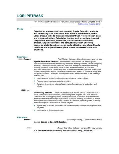 resume sles word