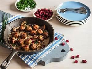 Köttbullar Soße Rezept : veggie k ttbullar mit champignon cranberry sosse rezepte reformhaus ~ Buech-reservation.com Haus und Dekorationen