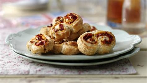 sun dried tomato and rosemary palmiers
