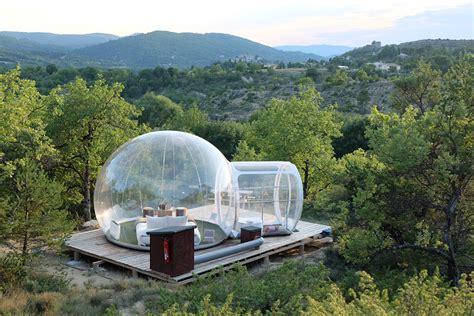 chambre bulle dans la nature les bulles de forcalquier dormir dans une bulle entre
