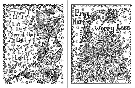 Positive Quotes Coloring Pages All Quotesgram