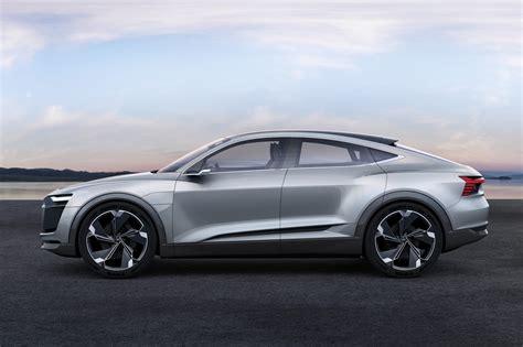 Age Of E Tron Audi E Tron Sportback Concept Surges Ev