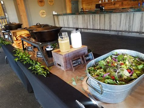 city barbeque catering   bbq bbq wedding rustic