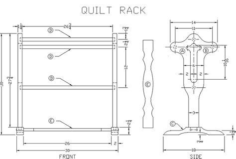 wooden quilt rack plans  woodworking