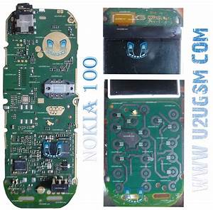 Nokia 100 Full Pcb Diagram Mother Board Layout