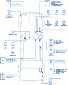 Jaguar Xj6 2004 Body Fuse Box  Block Circuit Breaker Diagram  U00bb Carfusebox