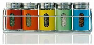 Support à épices : 5 pots pices et leur support ~ Teatrodelosmanantiales.com Idées de Décoration