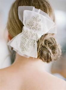 Wedding Hairstyles Hair Bow 2035332 Weddbook