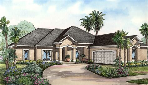 courtyard entry design  architectural designs house plans