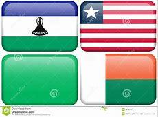 Lesotho, Liberia, Libya, Madagascar Royalty Free Stock