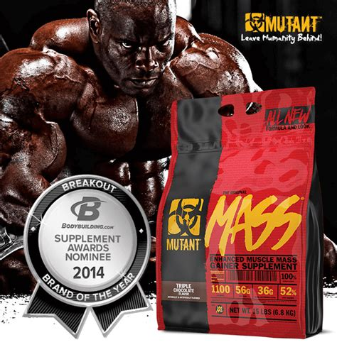 Mutant Mass 5 Lbs By Nutriku mass by mutant at bodybuilding best prices on mass