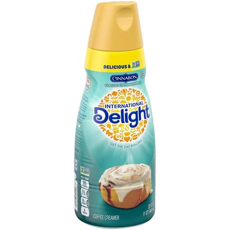 And yes, it's time to freak out, thanks for asking! International Delight Coffee Creamer Cinnabon Classic Cinnamon Roll | Hy-Vee Aisles Online ...