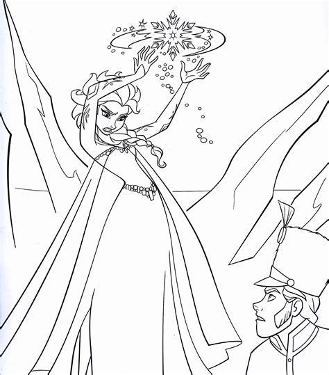 Elsa Frozen Coloring Pages Coloringsuitecom