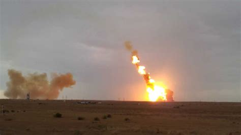 Unmanned Russian Proton-m Rocket Explodes Less Than One