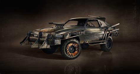 Mad Max 2015 And Vehicles, Cars Used