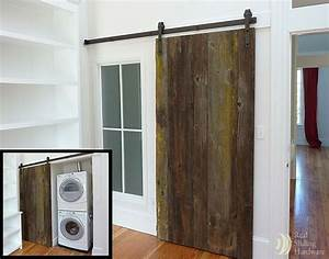 41 best images about gates on pinterest wooden gates With barn door for laundry closet