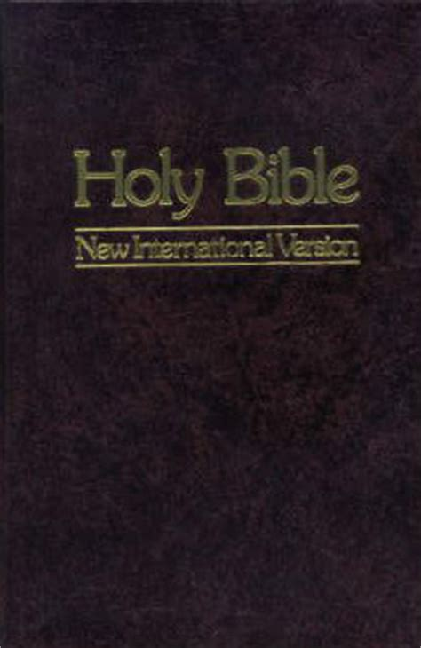 holy bible  international version  anonymous
