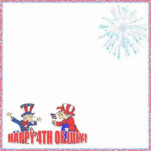 Free 4th of July Borders - Happy 4th of July Border Clip Art