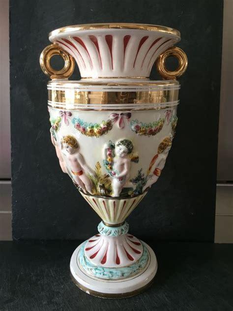 vasi capodimonte antichi capodimonte vaso in ceramica numerato catawiki