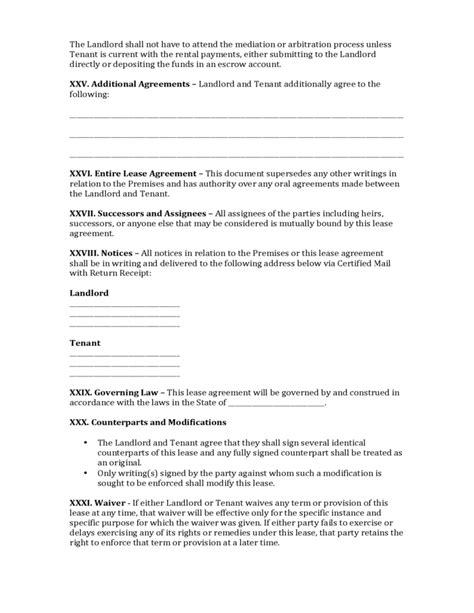 hawaii commercial lease agreement