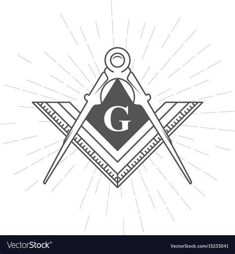 freemasonry and illuminati freemason symbol illuminati logo with compasses vector image