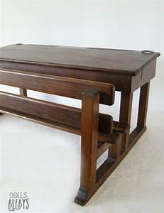 Bureau Enfant Vintage : pupitre bois vintage avec encriers grand mod le pour jouer l 39 cole ~ Teatrodelosmanantiales.com Idées de Décoration