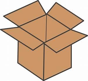 Brown Box Clip Art At Clker Com