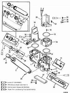 Mercury Marine 250 Hp  3 0l Efi  Power Trim Components Parts