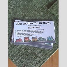 1000+ Images About Parking Notes To Print On Pinterest  Bad Parking, Note And Business Cards