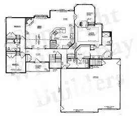 custom plans custom floor plans and blueprints in appleton wi and the fox valley willow bay builders