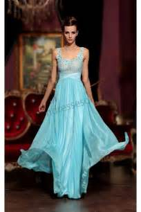 baby blue bridesmaid dresses prom dresses baby blue flowers spaghetti chiffon bridesmaid evening dress s775