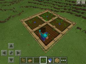 How to Grow Wheat/Carrots or Potatoes in Minecraft PE ...