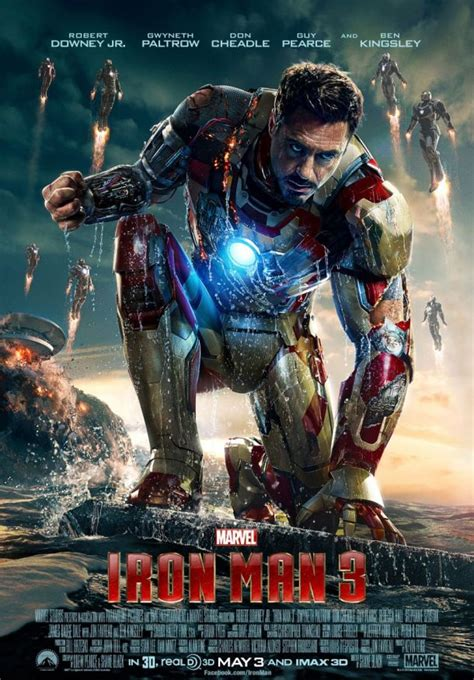Very Cool New Iron Man 3 Poster  Ign