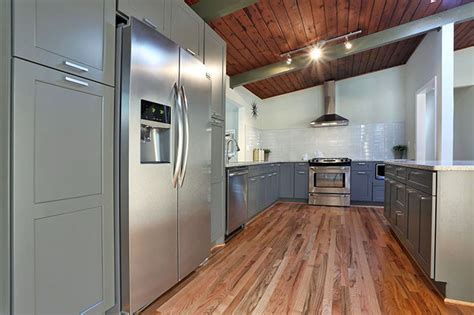 gray kitchen floors with oak cabinets 30 gray and white kitchen ideas designing idea