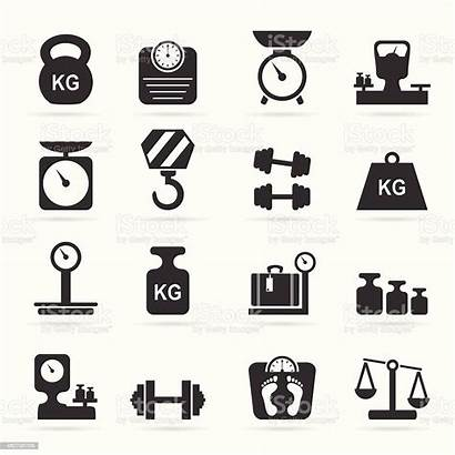 Scale Icon Weights Icons Scales Vector Balance