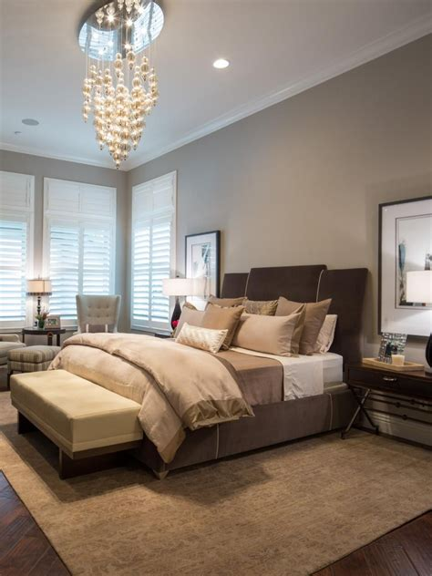 jonathan scott s bedroom features a mix of browns taupes