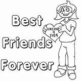 Friendship Coloring Friends Pages Friend Forever Printable Bff Colouring Quotes Ever Sheets Heart Cards Popular Quotesgram Adult Usage Any Coloringpages sketch template