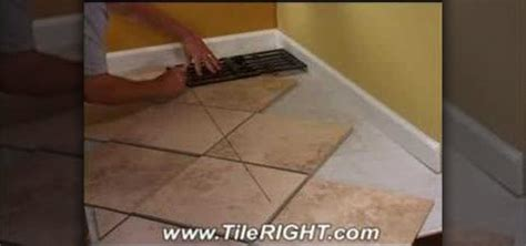 how to lay tile flooring in kitchen how to tile a diagonal cut tile 171 construction repair 9471