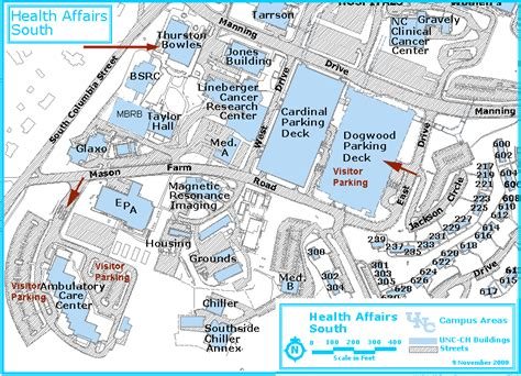 Unc Football Parking Cobb Deck by Mhmf Location