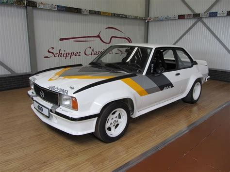 Opel Manta 400 by Opel Ascona 400 C A R S Cars Rally And